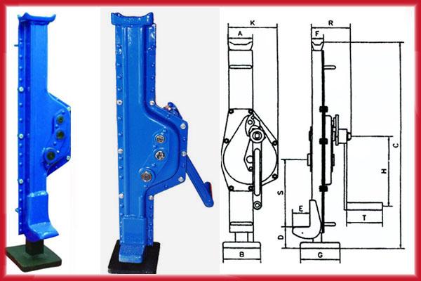 Mechanical JackRack Jack Instruction And Parameters Pictures
