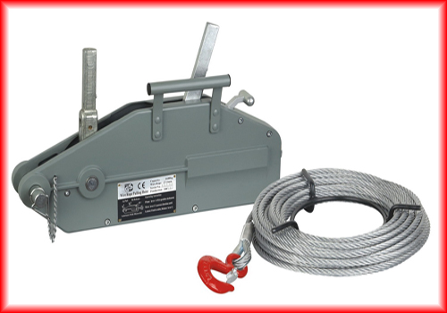1600 kg wire rope pulling machines