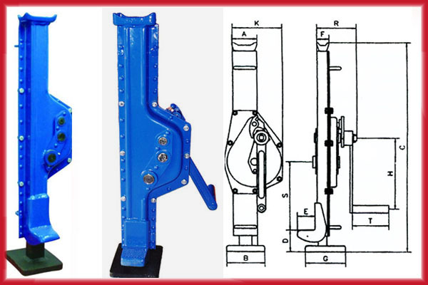 Mechanical Jack Rack Jack Instruction And Parameters Pictures