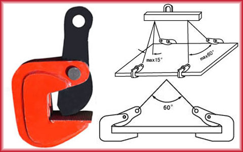 Horizontal Plate Clamp Specification And Horizontal Steel