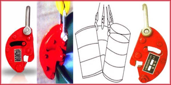 QT oil drum clamps