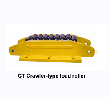 crawler type moving roller