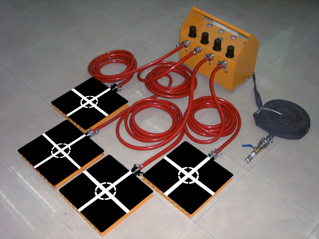 Air Casters Air Bearings Air Film Transporters Instruction