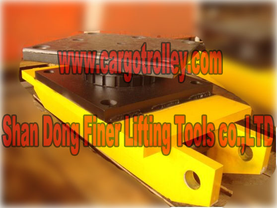 swivel pad top rollers skids